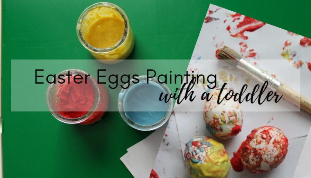 EASTER EGGS PAINTING