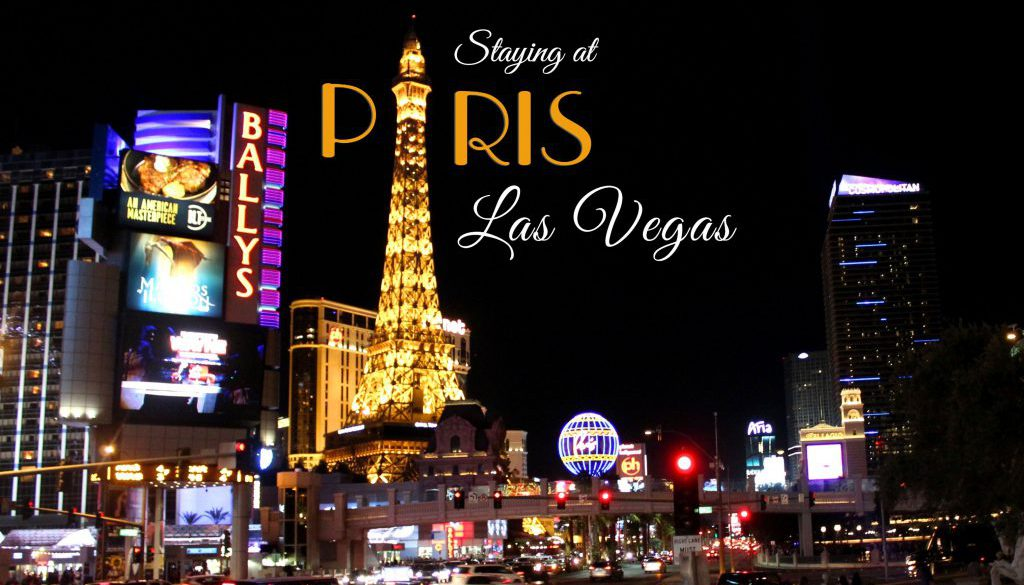 PARIS LAS VEGAS - THE STRIP AT NIGHT