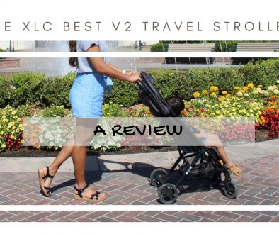 ZOE XLC BEST V2 TRAVEL STROLLER
