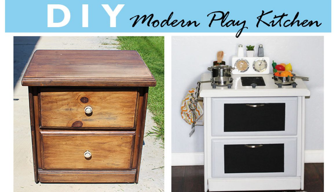DIY PLAY KITCHEN 1
