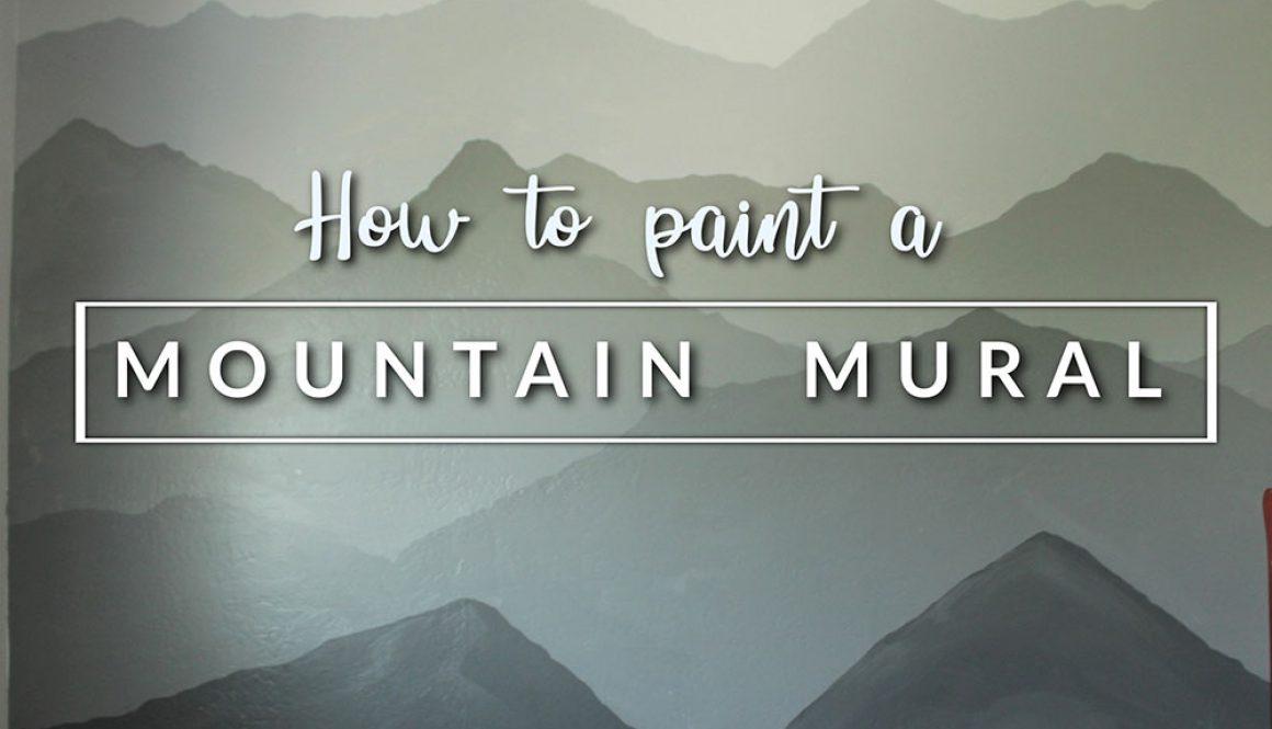 MOUNTAIN MURAL 1